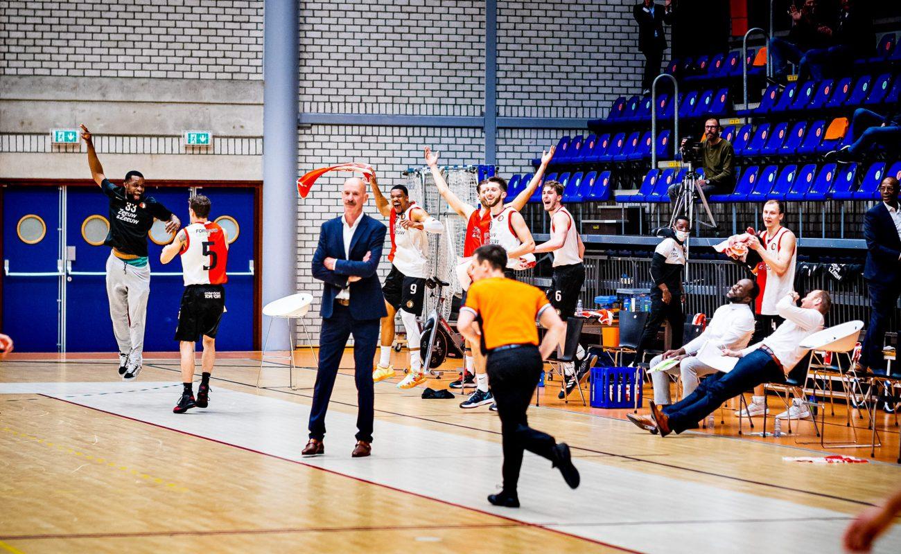 10-04-2021: Basketbal: ZZ Feyenoord v Den Helder Suns: Rotterdam